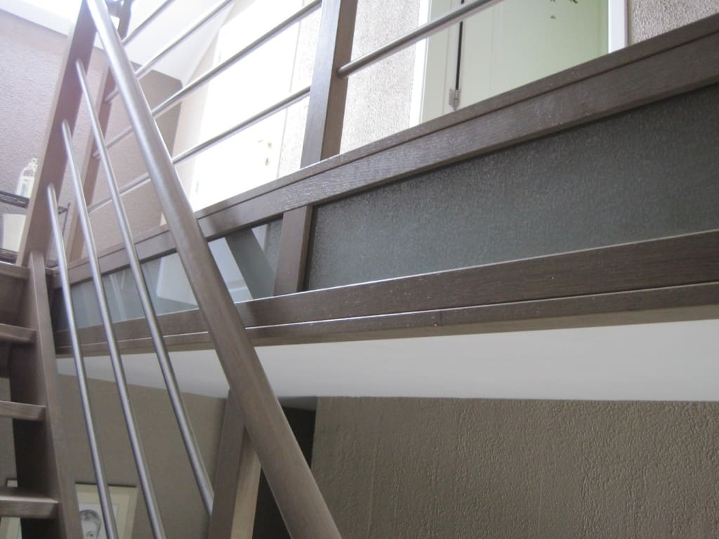 Escalier moderne en chêne à Arlon
