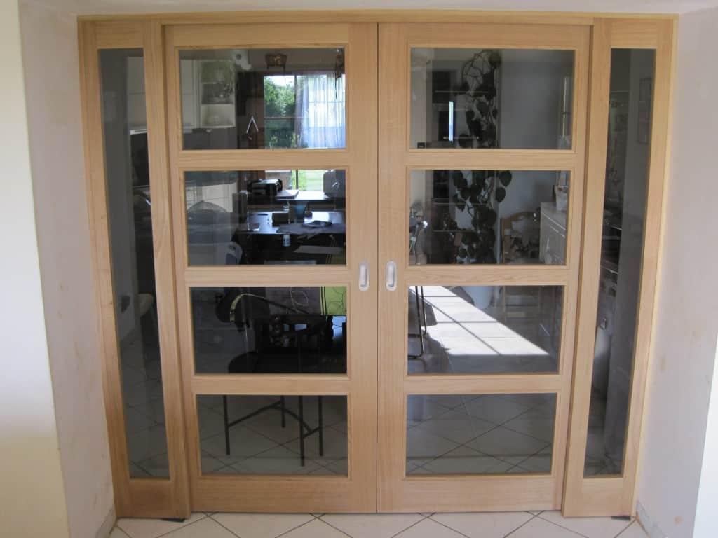 Double Porte Verriere Interieure devis pour vos porte en bois massif - menuiserie dasnois